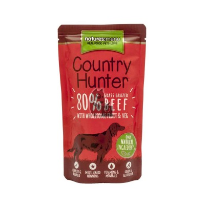 Natures Menu Saqueta Country Hunter Carne de Vaca