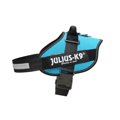 Julius K9 peitoral IDC azul aqua marine
