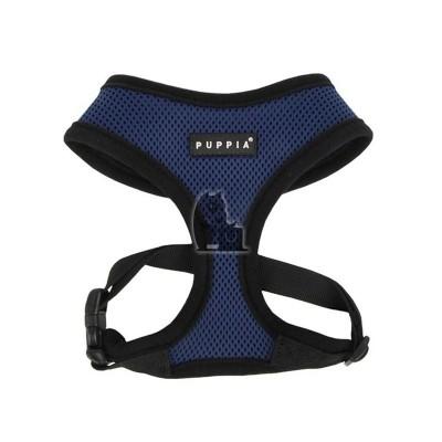 Puppia Peitoral Soft Harness azul