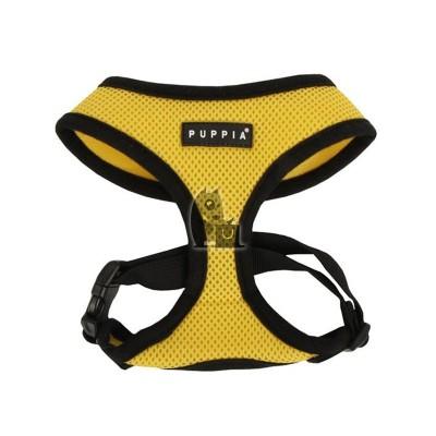 Puppia Peitoral Soft Harness amarelo