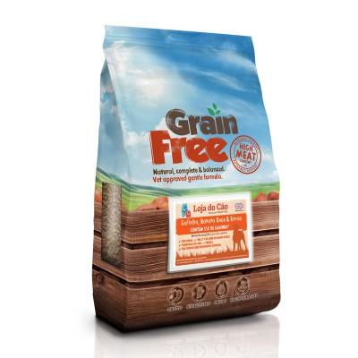 Loja do Cão Grain Free Galinha com Batata Doce e Ervas