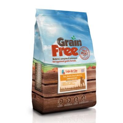 Loja do Cão Grain Free Perú com Batata Doce e Mirtilos