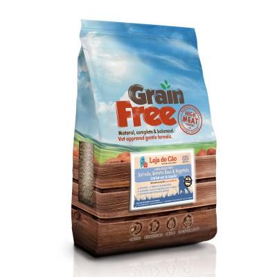 Loja do Cão Grain Free Large Breed Puppy Salmão, Batata Doce & Vegetais