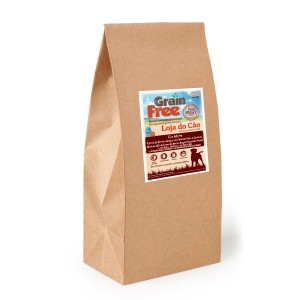 Loja do Cão Grain Free Angus Beef com Batata Doce e Cenoura