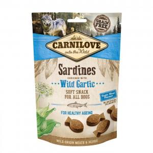 Carnilove Dog Soft Snack Sardines & Wild Garlic