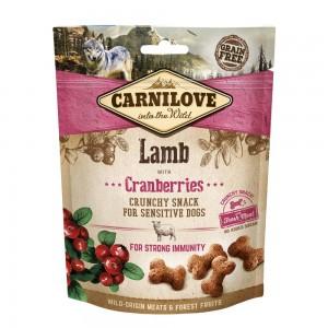 Carnilove Dog Crunchy Snack Lamb & Cranberries