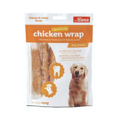 Les Filous Chicken Wrap Rawhide