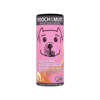 Pooch Mutt Snacks Biscoitos de Amendoim