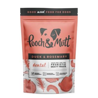 Pooch Mutt Probiotic Meaty Bites Dental Pato & Alecrim