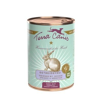 Terra Canis Grain Free Coelho com Courgette, Damasco e Borragem