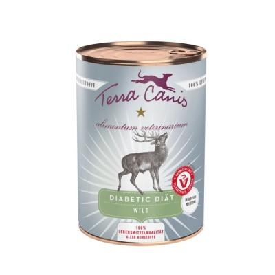 Terra Canis Ali-Vet Diabético Carne de Caça