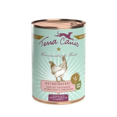 Terra Canis Grain Free Frango com Pastinaga, Amora e Dente de Leão