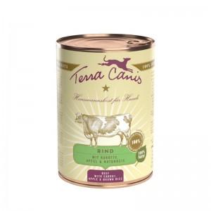 Terra Canis Classic Vaca com Cenoura, Maçã e Arroz Integral