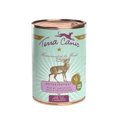 Terra Canis Grain Free Veado com Batata, Maçã e Arando