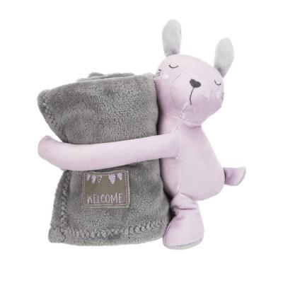 Trixie Junior Conjunto Manta e Peluche rosa