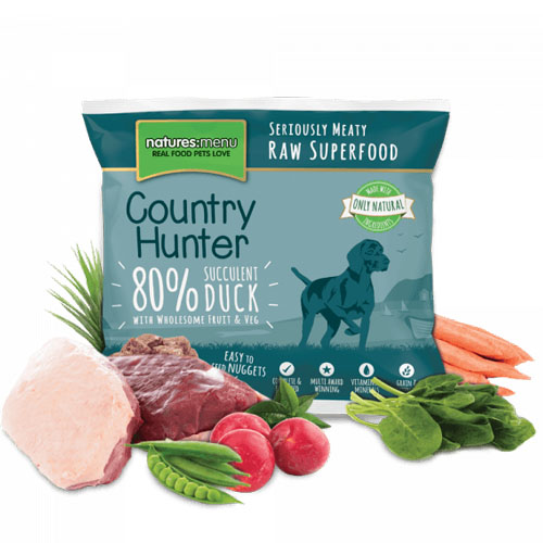 Natures Menu Country Hunter Raw Nuggets Duck