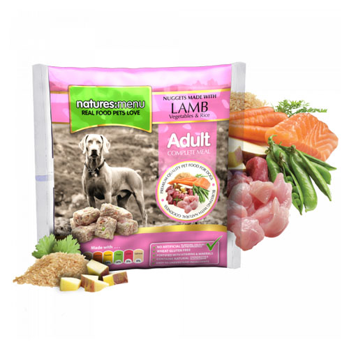 Natures Menu Original Raw Nuggets Lamb